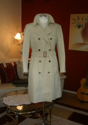Original Burberry Damen Trenchcoat Gr.38/40 M/S beige stone Mantel