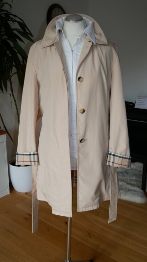 Burberry Trench Coat gold-colored-nude cotton
