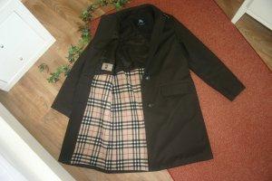 Original Burberry gefütterter Damen Mantel Gr.38/40 M braun Steppmantel Übergangsmantel