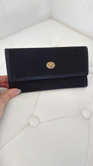 Burberry Portefeuille noir tissu mixte