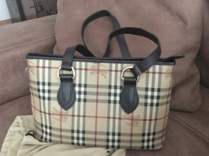 Burberry Carry Bag multicolored leather