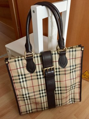 Original Burberry Haymarket Shopper