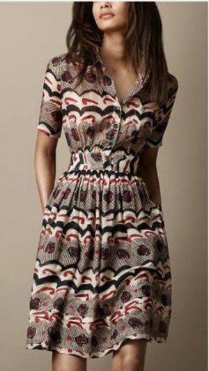 original Burberry Hemdkleid Kleid mit Hemdkragen
