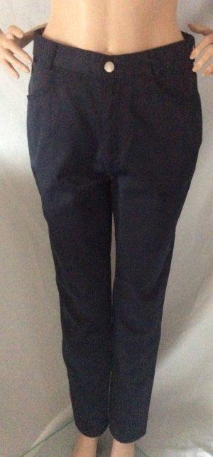 Burberry Pantalone a sigaretta blu scuro