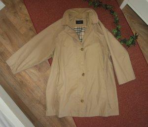 Original Burberry Jacke/Mantel Gr.42 M/L Übergangsjacke Trenchcoat Übergangsmantel beige