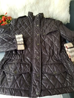 Burberry Quilted Jacket dark brown