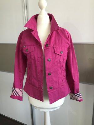 Original Burberry Jeans Jacke Denim Pink