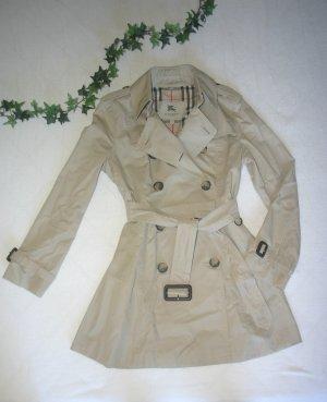 Original Burberry Kensington Trenchcoat Gr.38/S UK10 USA8 stone/stein/beige