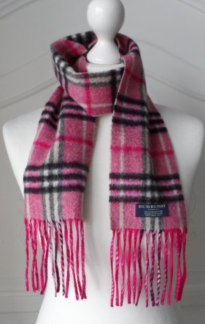 Burberry London Cashmere Scarf multicolored cashmere