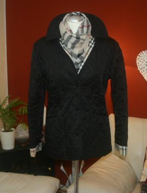 Original Burberry London Damen Steppjacke Gr.M/40 schwarz Jacke