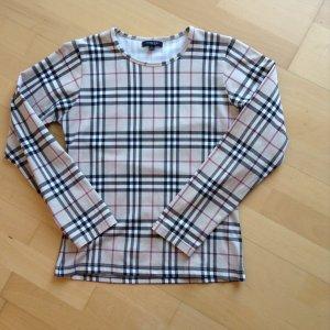 Original 'BURBERRY London'-Langarmshirt mit Rundhalsausschnitt, Größe L