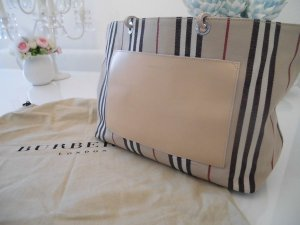 Burberry Shopper multicolored cotton