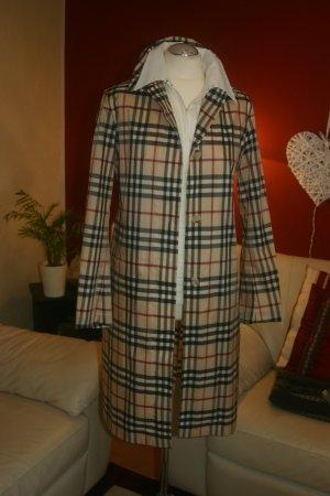 Original Burberry Regen-Cape Regen-Trenchcoat Check Design Gr.38/40 (S/M) Mantel