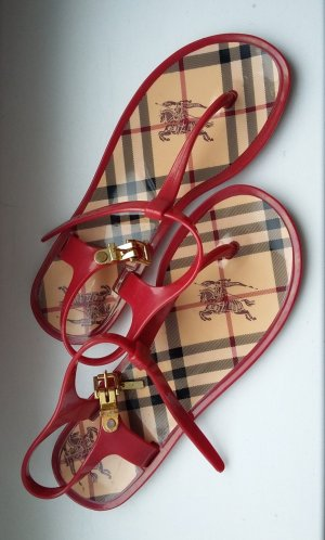 Original Burberry Sandalen
