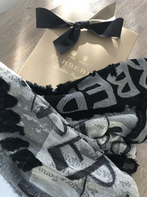 Burberry Woolen Scarf multicolored cotton