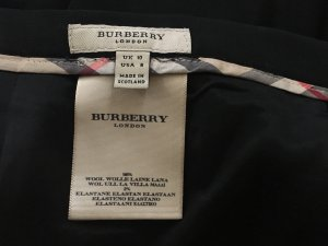 Original Burberry schwarzer Rock