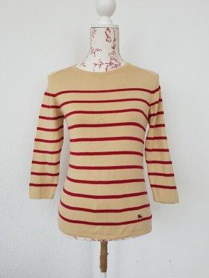 original Burberry Sommer Pullover mit Breton Streifen