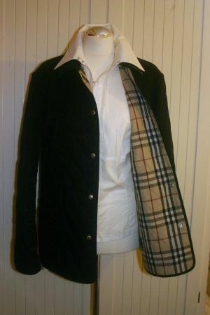Original Burberry Steppjacke Gr.42/M Reg schwarz Jacke Übergangsjacke Damen