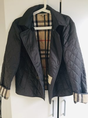 Original Burberry Steppjacke Grau