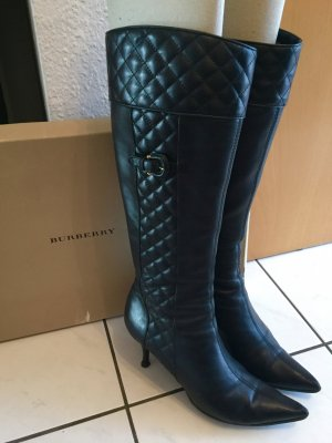 Original Burberry Stiefel, Black