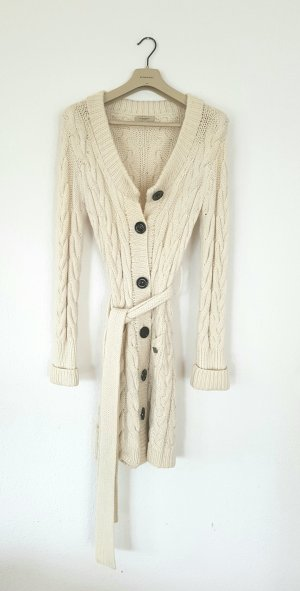 Original Burberry Strickmantel strickjacke heavy knit aus Wolle und Kaschmir