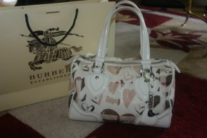 Burberry Bolso de bolos color oro-blanco