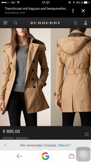 Original Burberry Trenchcoat