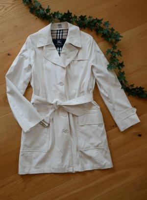 bester Platz neues Hoch attraktive Designs Original Burberry Trenchcoat Gr.38/40 S/M beige creme weiß Mantel Damen