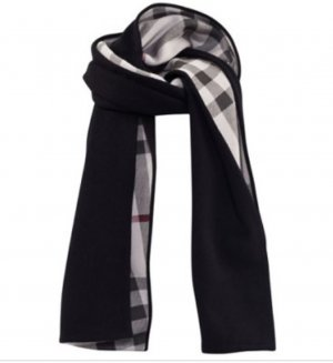 Burberry Woolen Scarf multicolored cashmere