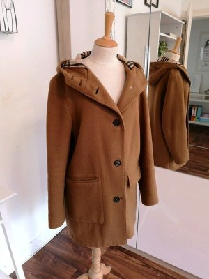 Burberry Hooded Coat brown-cognac-coloured