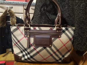 Original Burberry Wolle Damentasche