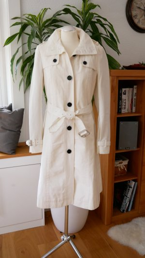 Burberry Brit Trench Coat white-black cotton