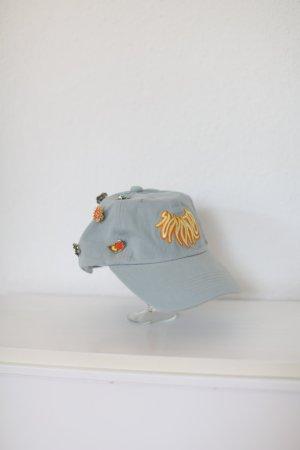 Chapeau de soleil bleu azur