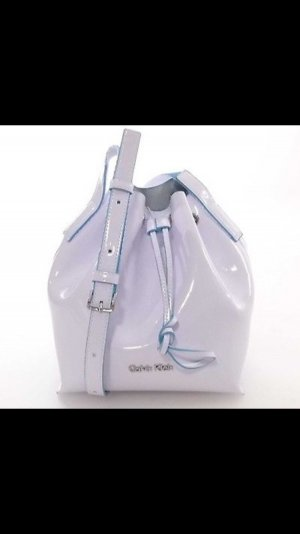 Calvin Klein Borsellino bianco-bianco sporco