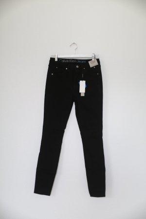 Original Calvin Klein Jeans Sculpted Skinny schwarz Gr. M W28