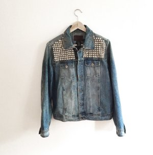 original Calvin Klein vintage oversized Jacke / Jeansjacke jacket Gr M - unikat