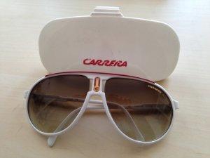 Original Carrera Sonnenbrille weiß/rot