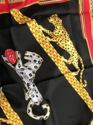 Original Cartier Paris Designer Seidentuch Tuch silk Scarf Neu