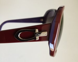 Cartier Occhiale da sole bordeaux-viola scuro