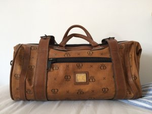 CD Travel Bag cognac-coloured