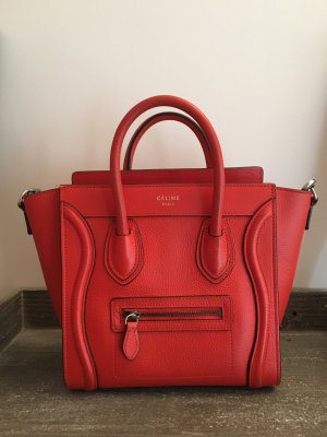 Original Celine Luggage Nano Tasche