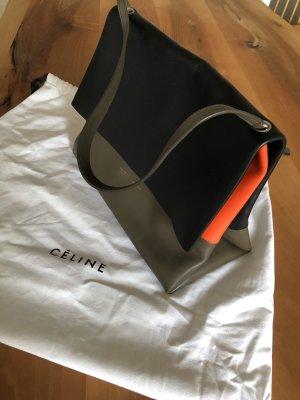 Original Céline Tasche, dreifarbiges Leder