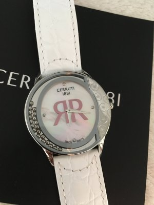 cerruti 1881 Watch With Leather Strap multicolored