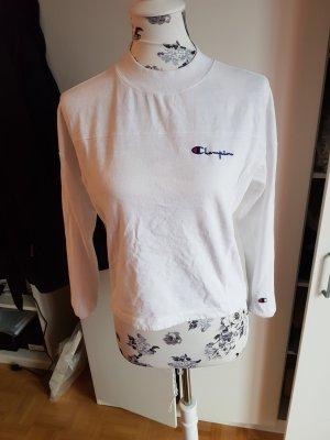 Original Champion Oberteil Langarm bluse weiß