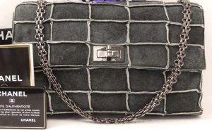 original Chanel 2.55 flap bag Patchwork