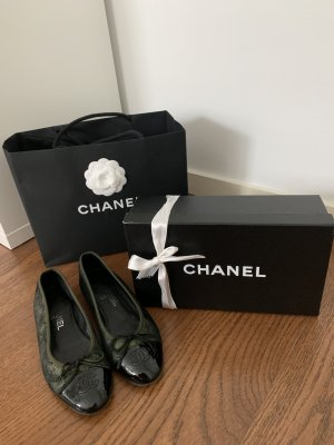 Original Chanel Ballerina 37 mit Box