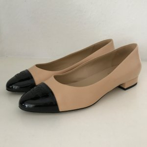 Chanel Ballerinas with Toecap multicolored leather