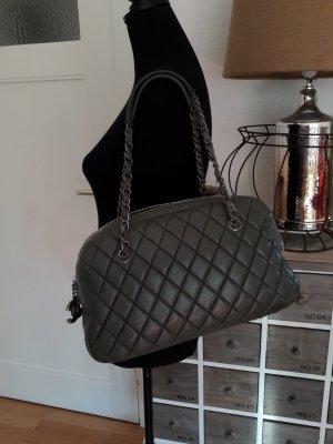 Chanel Bolso gris verdoso-caqui