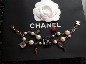 Chanel Bracelet noir-doré