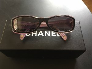 Chanel Bril zwart-roze
